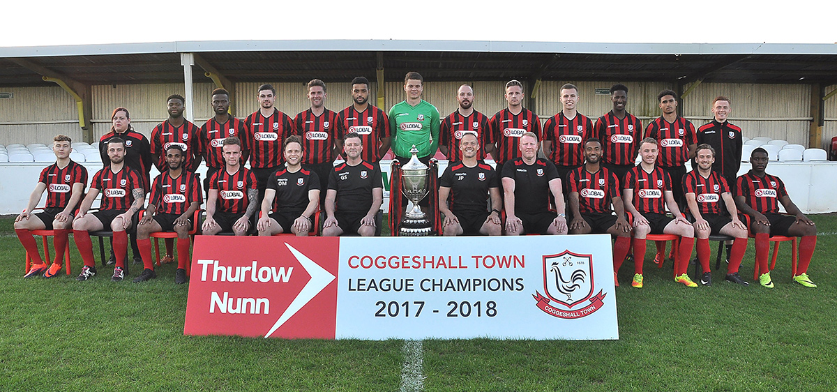 Thurlow Nunn League Champions Squad 2017-18
