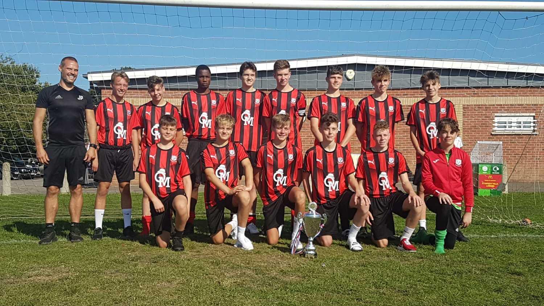 Under 15's Trophy Winners