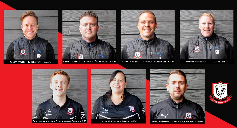 Management Team Sponsorship