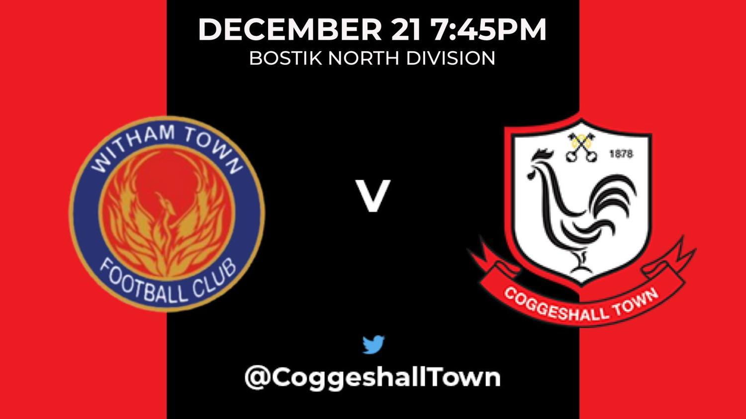 Match Preview – Witham Town