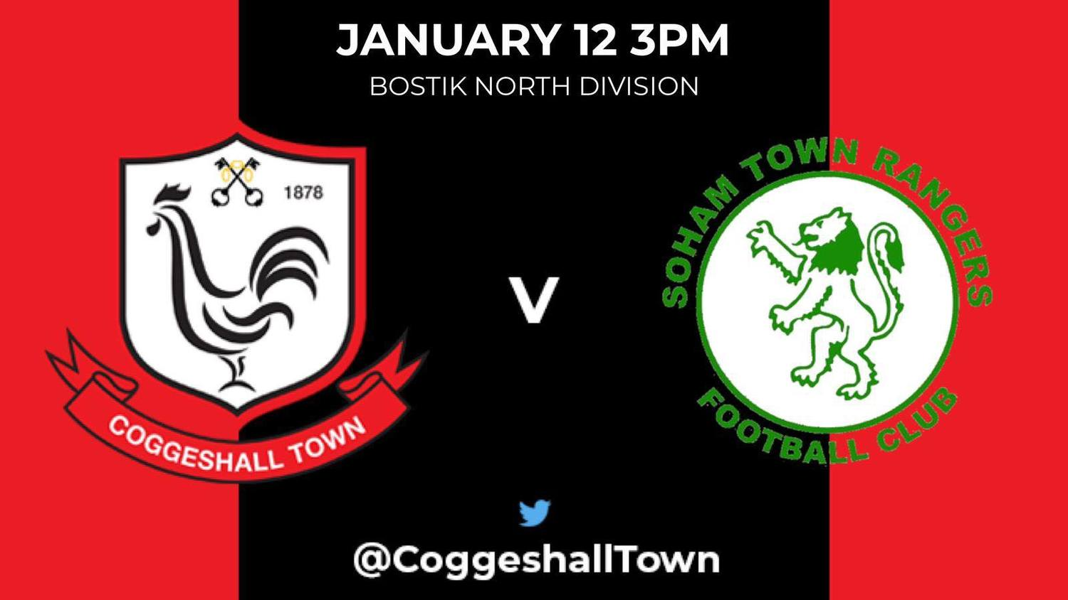 Match Preview – Soham Town Rangers