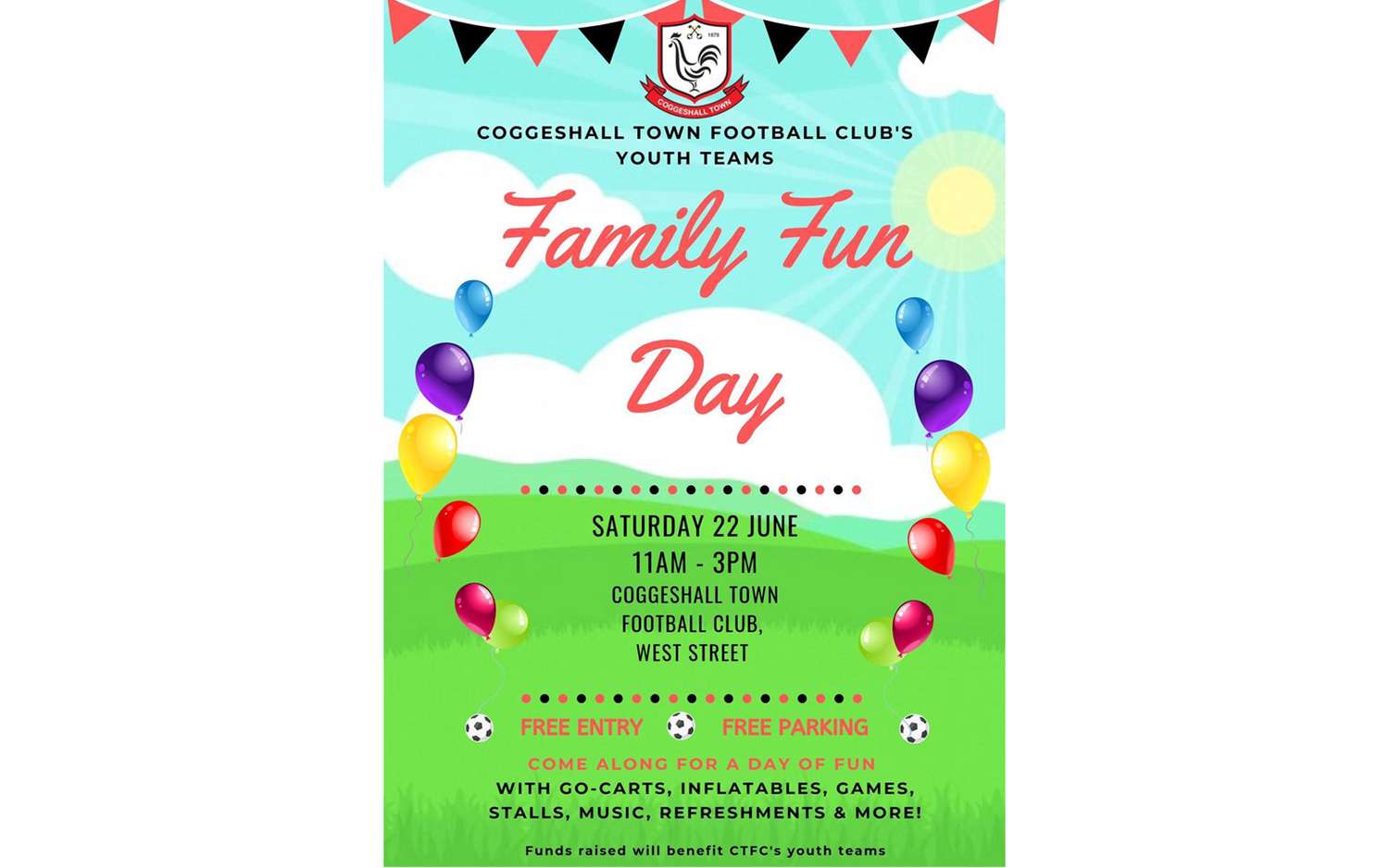 Family Fun Day – 22 June 3pm