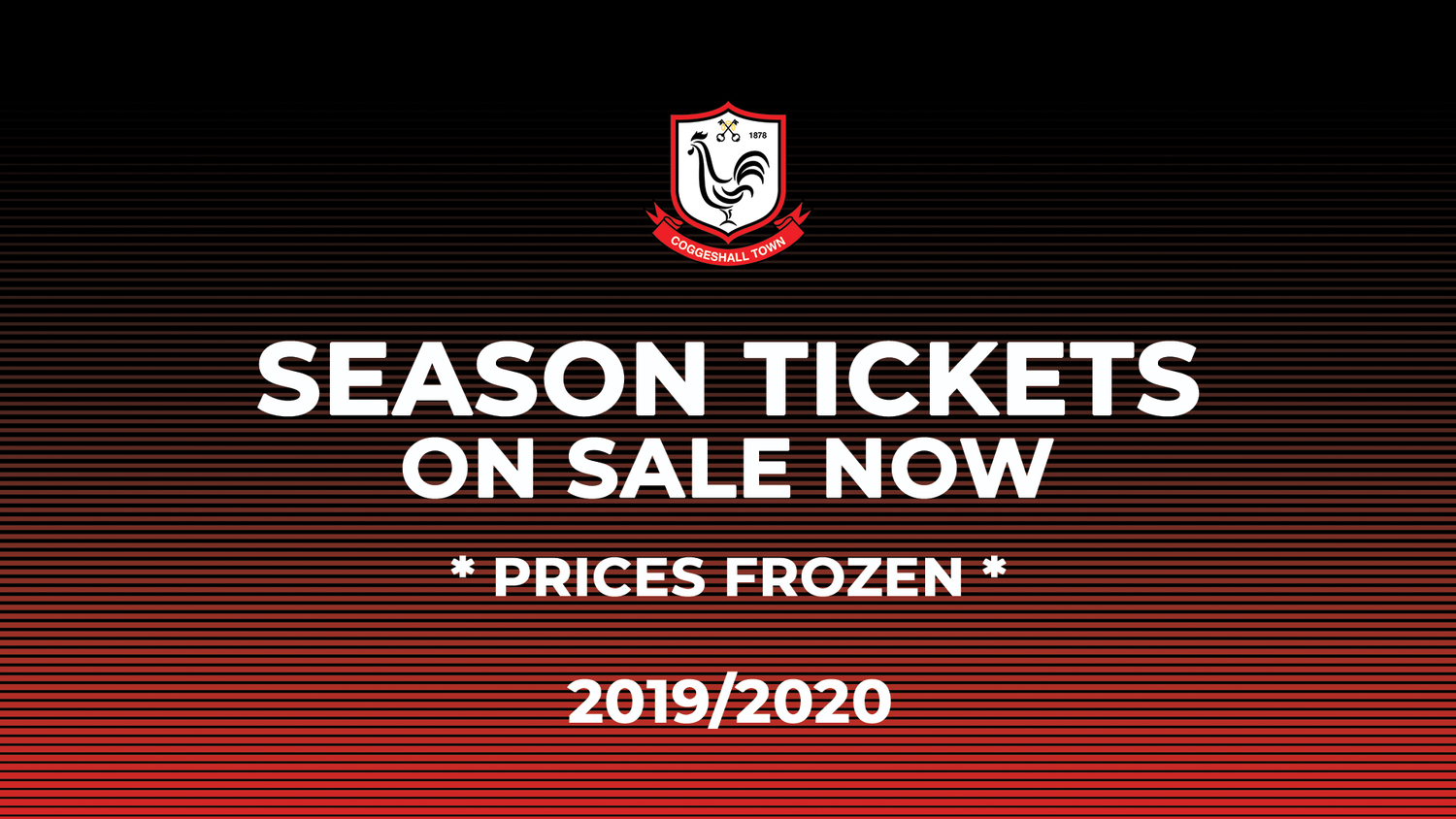 19/20 Season Tickets On Sale Now!