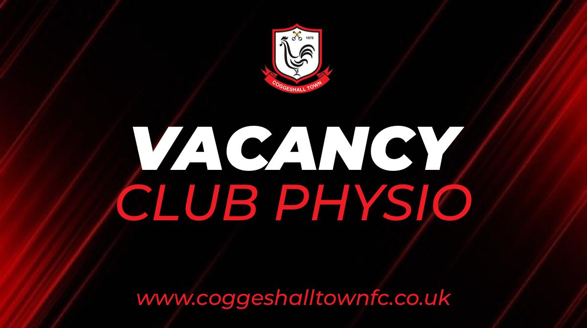 Club Physio Vacancy